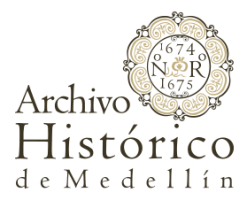 logo Archivo Histórico de Medellín AHM