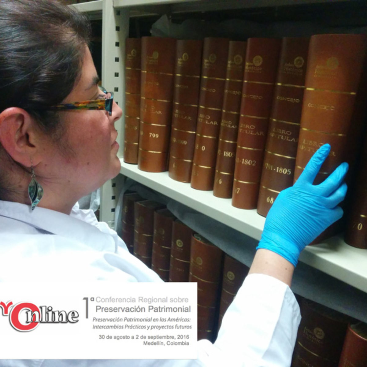 Archivo Histórico de Medellín en Conferencia Regional de Preservación