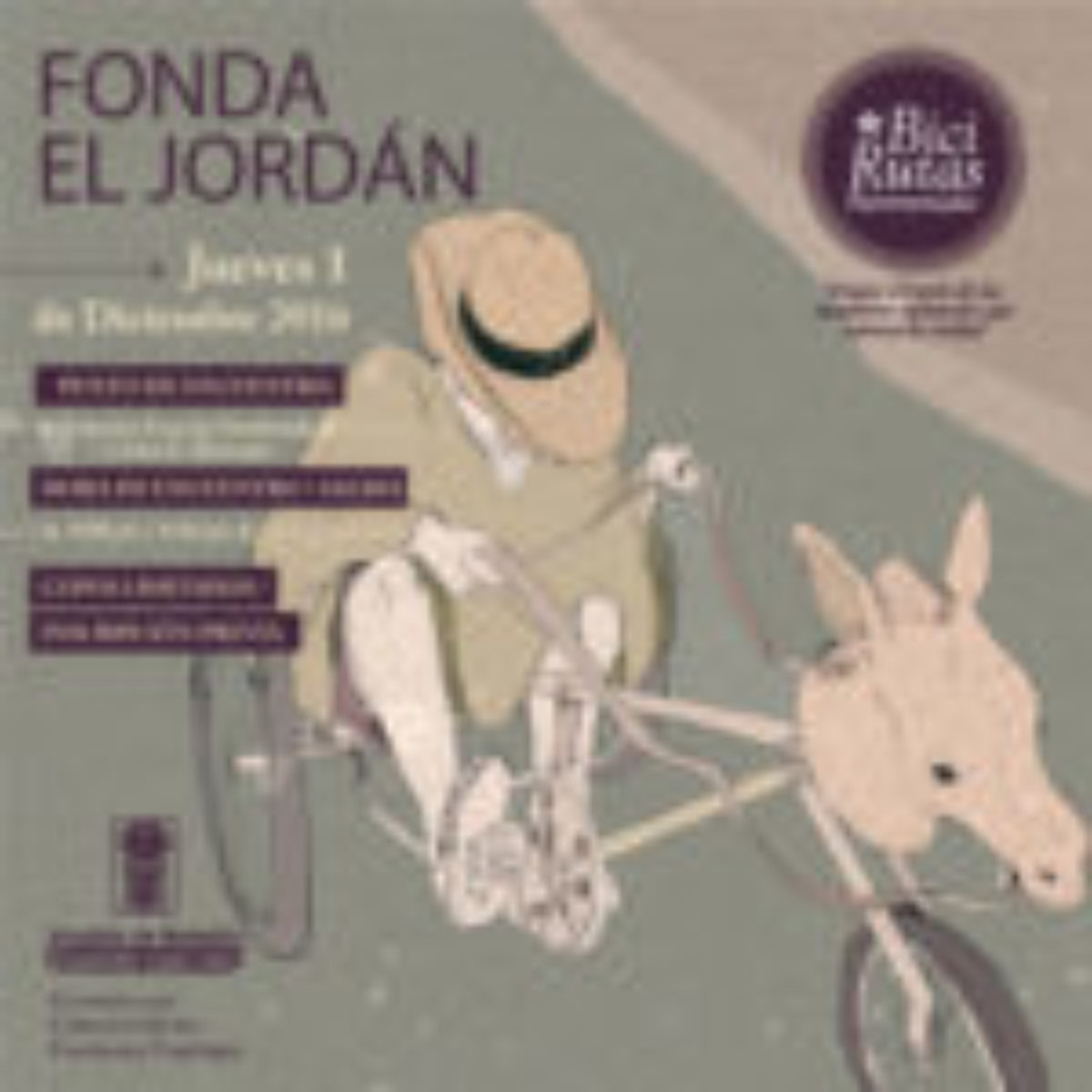 La BiciRuta Patrimonial a El Jordán será la última del año