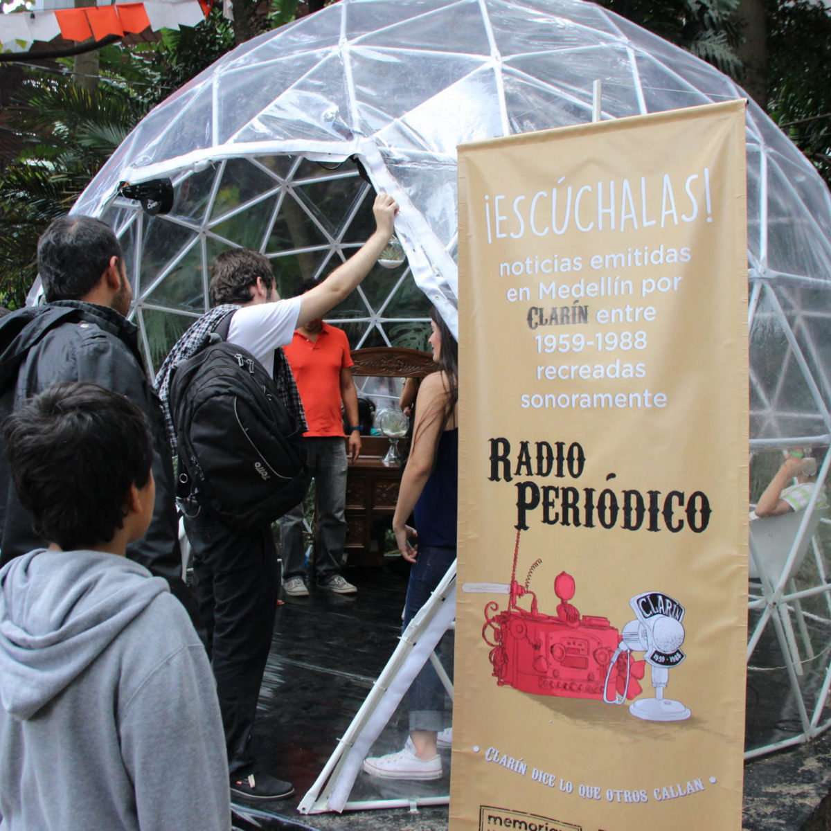 Radioperiódico Clarín en Fiesta del Libro 2015