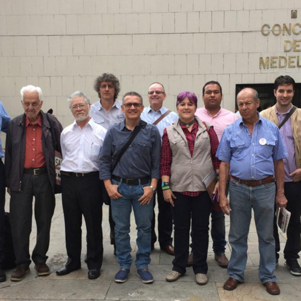 Integrantes de la Mesa de Museos de Medellín